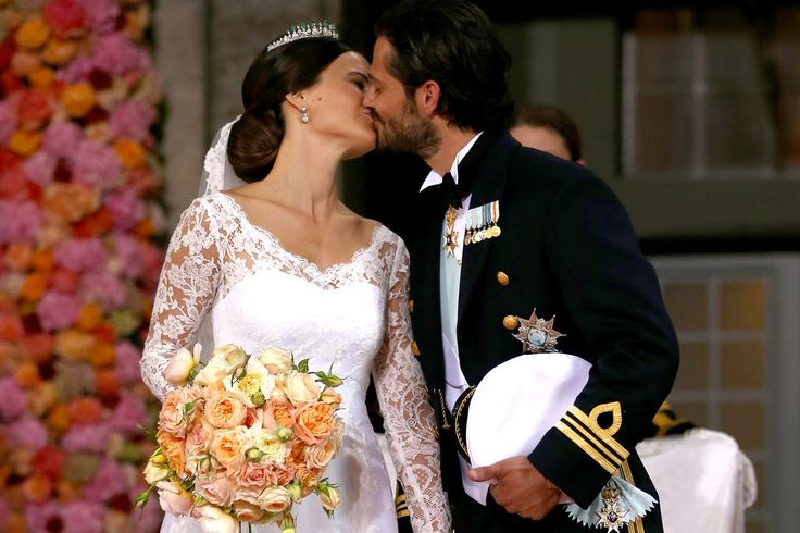 Prince Carl Philip Could Not Stop Kissing Princess Sofia at Their Romantic Wedding: Prince Carl Philip was all about kissing his bride at the Swedish royal wedding in Stockholm, Sweden, last Saturday.