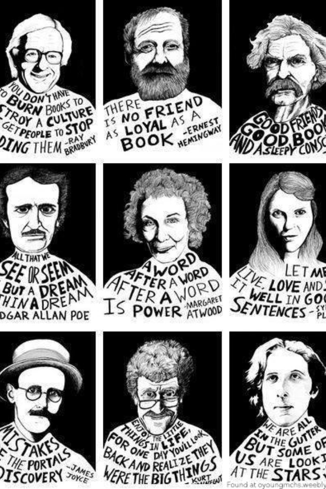 famous author quotes teaching pinterest