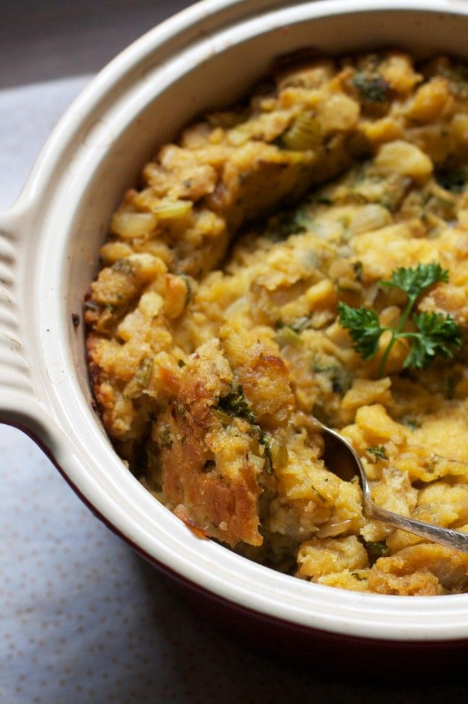 Great Great Grandma's Famous Stuffing- basically the BEST stuffing on the planet.