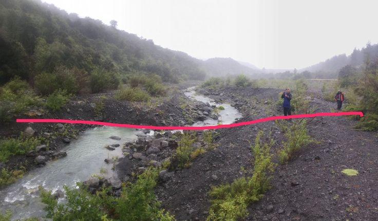 New Zealand's Kekerengu fault: Offset stream
