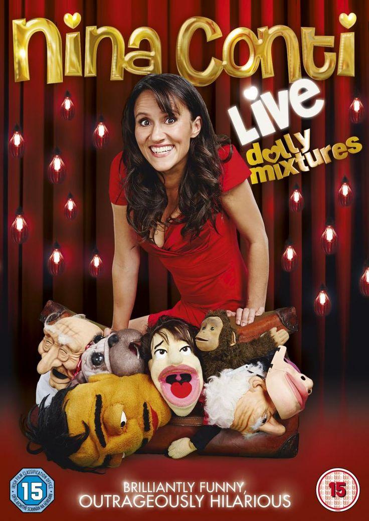 Nina Conti - one very funny ventriloquist.