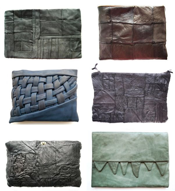 clutches: Fashion Pur Bags, Nutsa Modebadz, Color, Blue, Earth Tones, Leather Wallets, Leather Clutches, The One, Pillows