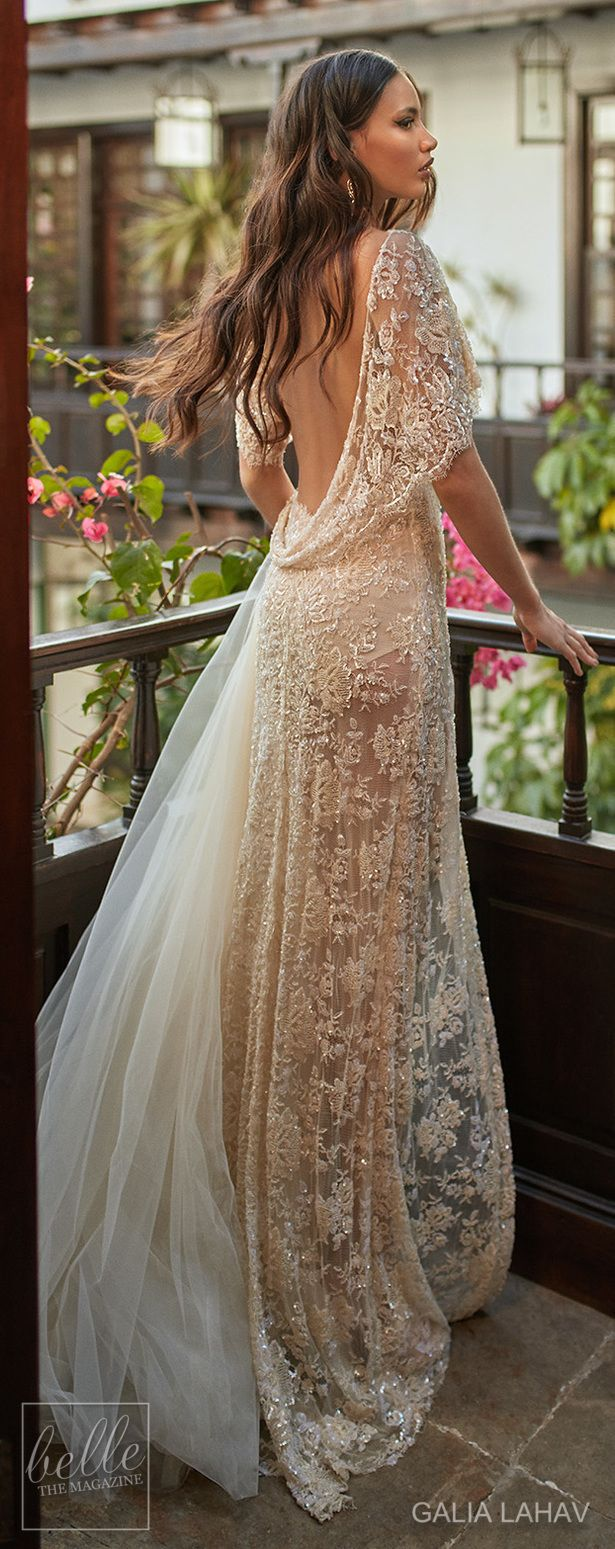 Wedding dress by Galia Lahav Couture Bridal - Fall 2018 - Florence by Night - Ambrosia