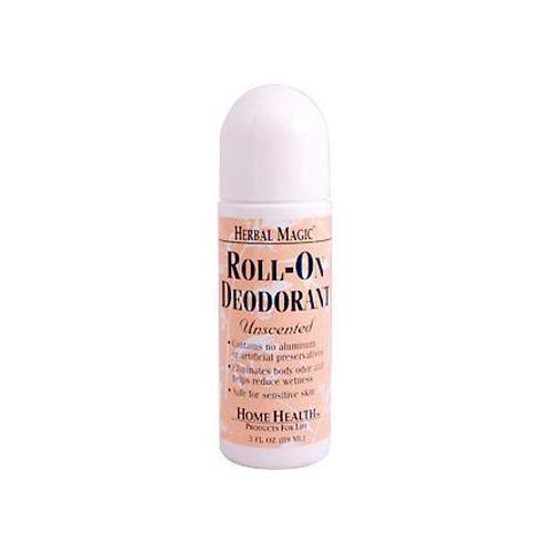 Home Health Roll-on Deodorant Herbal Magic Unscented - 3 Fl Oz