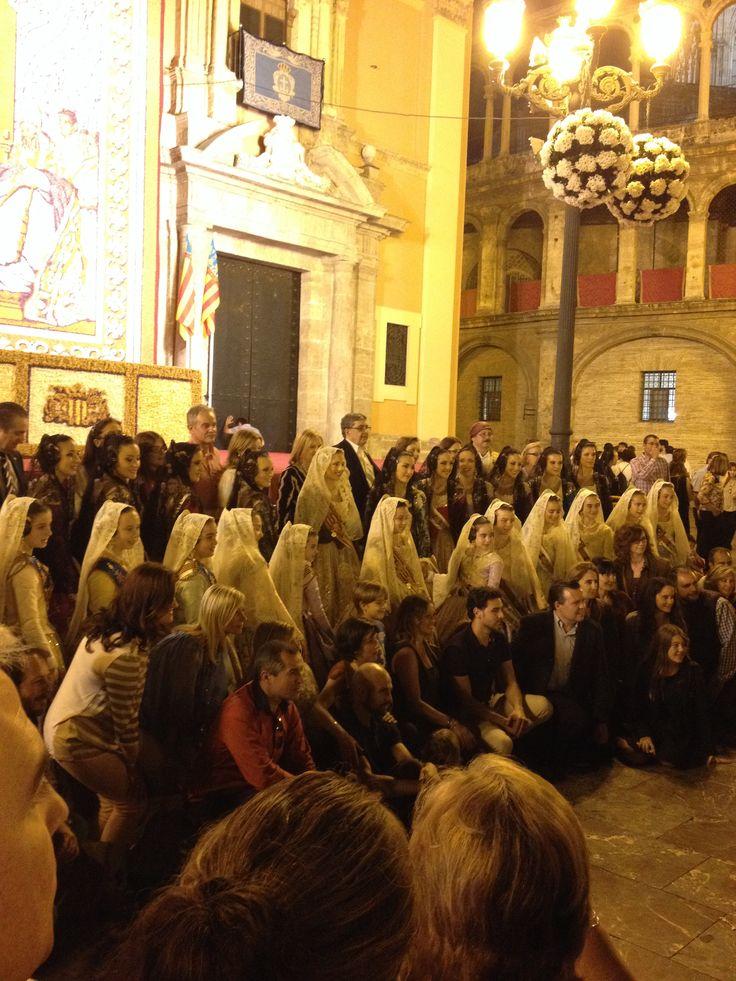 Fiesta de la virgen VLC  My pic