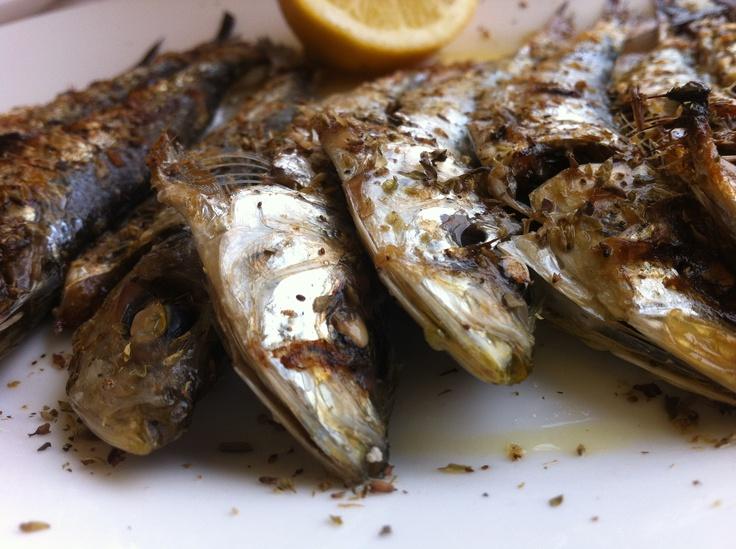 Grilled sardines!!