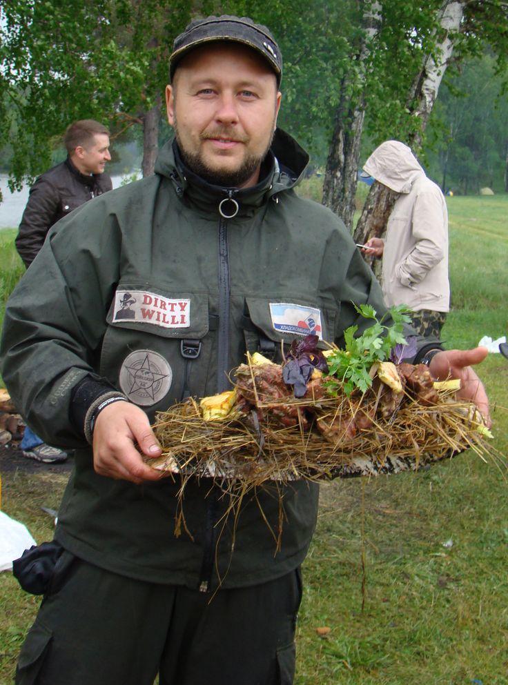 Блины фаршированные квашеной капусты