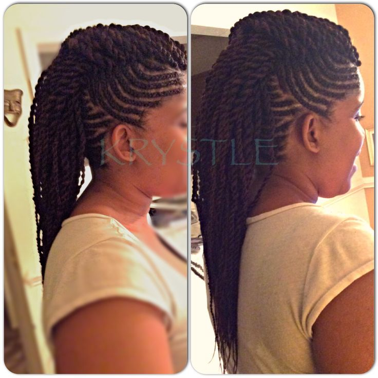 Twist Mohawk Braids Twist Senegalese Long Design