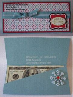 christmas 4 Money Holders {free patterns} photo