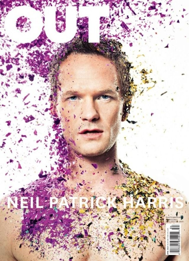The best #magazine covers of 2014: Neil Patrick Harris on the cover of Out