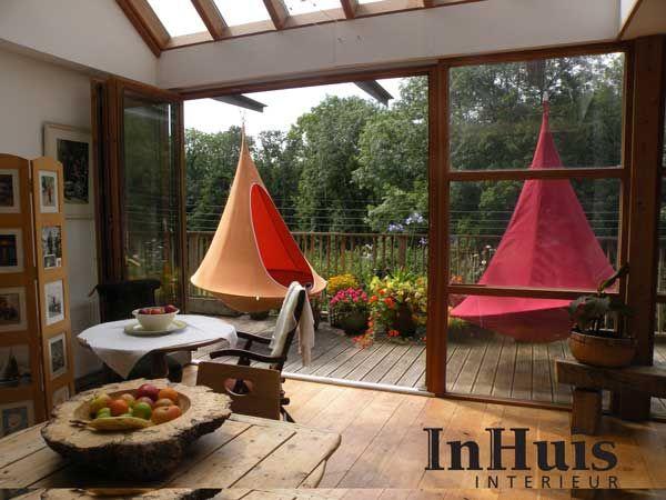 De Cacoon is de ideale chill plek voor binnen en buitenshuis. #Cacoon #Relax #Chill #Hang #Tent #Indoor #Outdoor