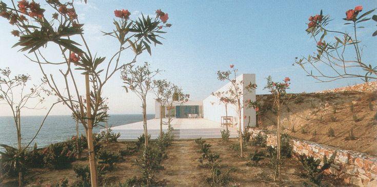 livio vacchini, casa vacanza paros grecia 1992-98