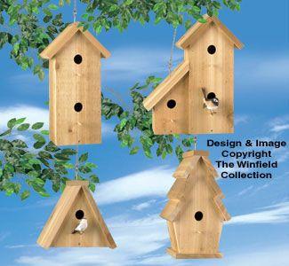 Cedar Birdhouses #2 Wood Project Plan