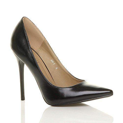 Taille Talon Chaussures Escarpins Fête Haut Élégante Femmes Pointue XuiTPkwOZl