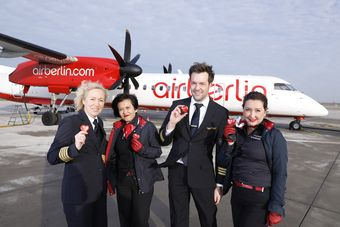 BERLIN, Germany, 2016-Nov-17 — /Travel PR News/ — airberlin now flies up to three times a day from its Dusseldorf hub to Geneva. The new route is partic