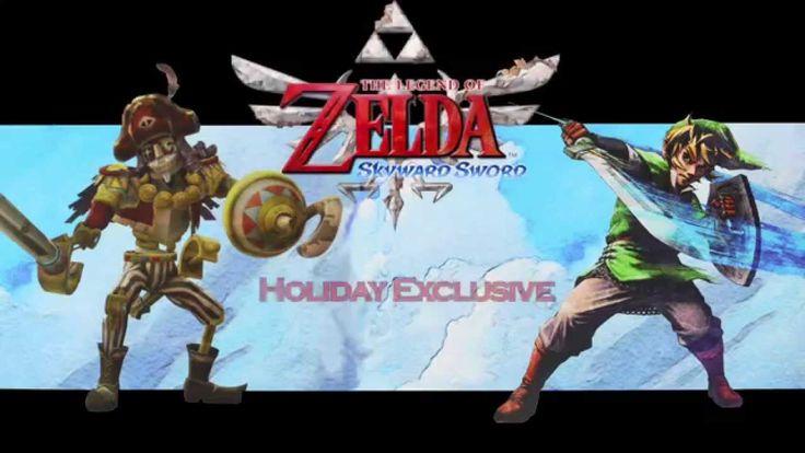 The Legend of Zelda: Skyward Sword Statues