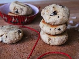 Kokosové keksíky Deda Mráza