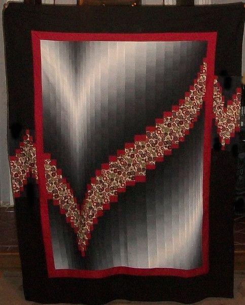 Two Fabric Bargello