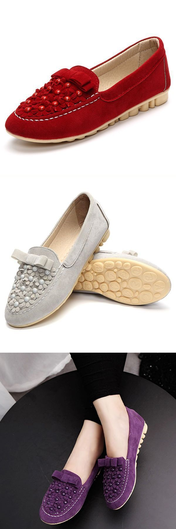 Flat navy loafers women casual shoes comfortable outdoor suede slip on flat loafers #flat #pointed #loafers #flat #shoe #chanel #flat #shoe #socks #grey #flat #loafers