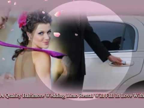 Baltimore Limo Service: Baltimore Wedding Limos