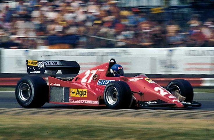 1983 Ferrari 126C3 Patrick Tambay Racing, Ferrari