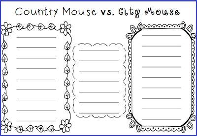 Compare contrast essay country vs city