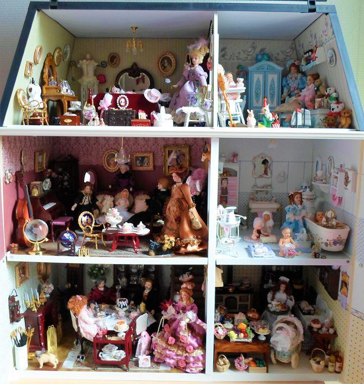 Ma maison de poupées victoriennes