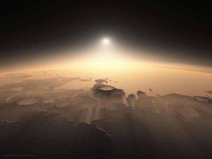 || Martian sunrises, as seen by the HiRISE orbiter
