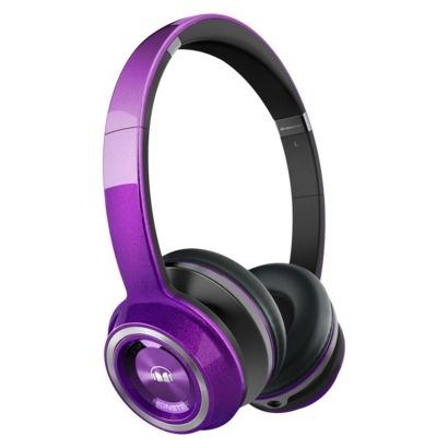 Monster Sound Machine On-Ear Headphones - Purple : Target