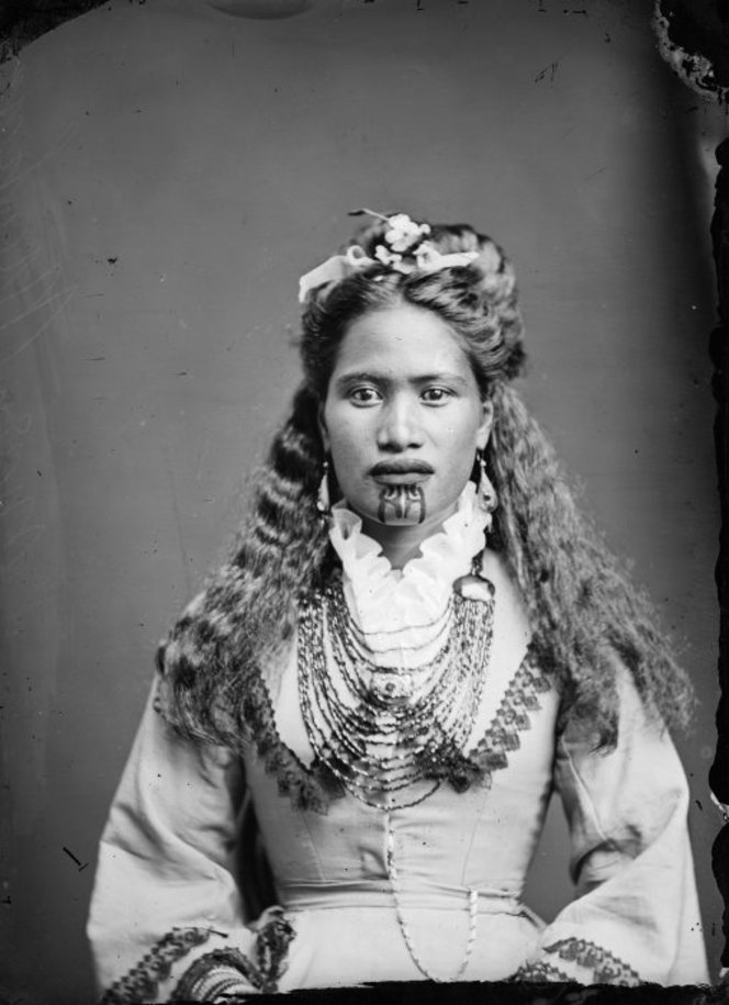 Mary Mahau, a Maori woman from Hawkes Bay district