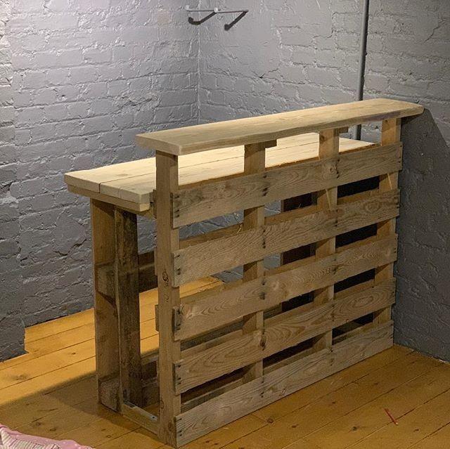 Latest Wooden Pallet Furniture Ideas Home Decor Bar En Bois De Palettes Palette Diy Et Mobilier D Exterieur Palette