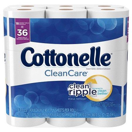 Cottonelle Clean Care Double Roll Toilet Paper : Target