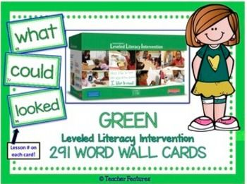 Leveled Literacy Intervention