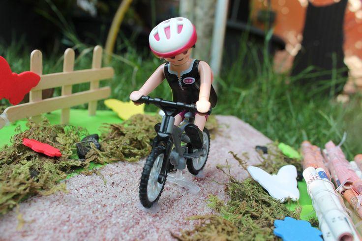 geldgeschenk fahrrad playmobil coris arts bicycle en. Black Bedroom Furniture Sets. Home Design Ideas
