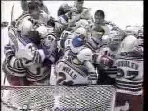 Last moments before NY Rangers win 1994 Stanley Cup #NYR