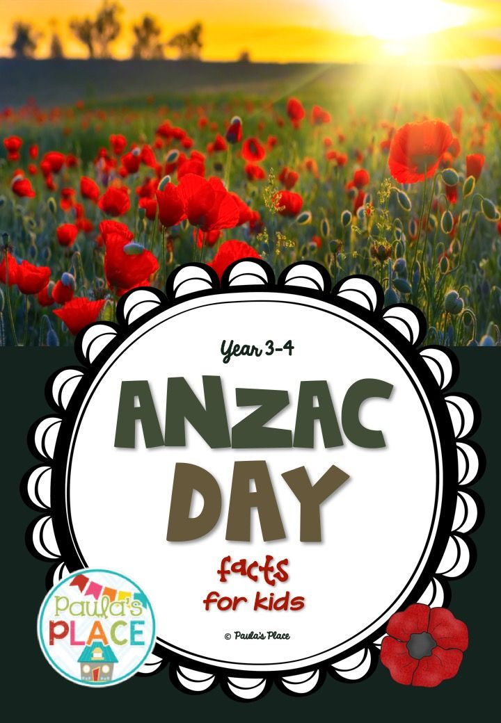ANZAC Day - a PowerPoint of facts to share with your grade