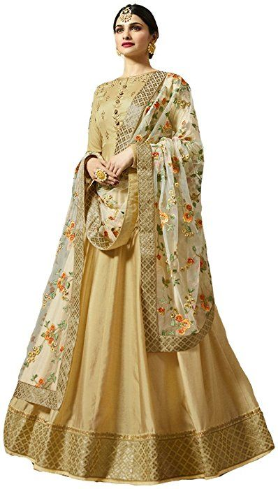 377b4a9393 Amazon.com: ziya Ready Made Designer Indian Wear & Ethnic Wear Anarkali Salwar  Suit Kasheesh Rajmahal (Beige, XS-36): Clothing #anarkalisuits ...