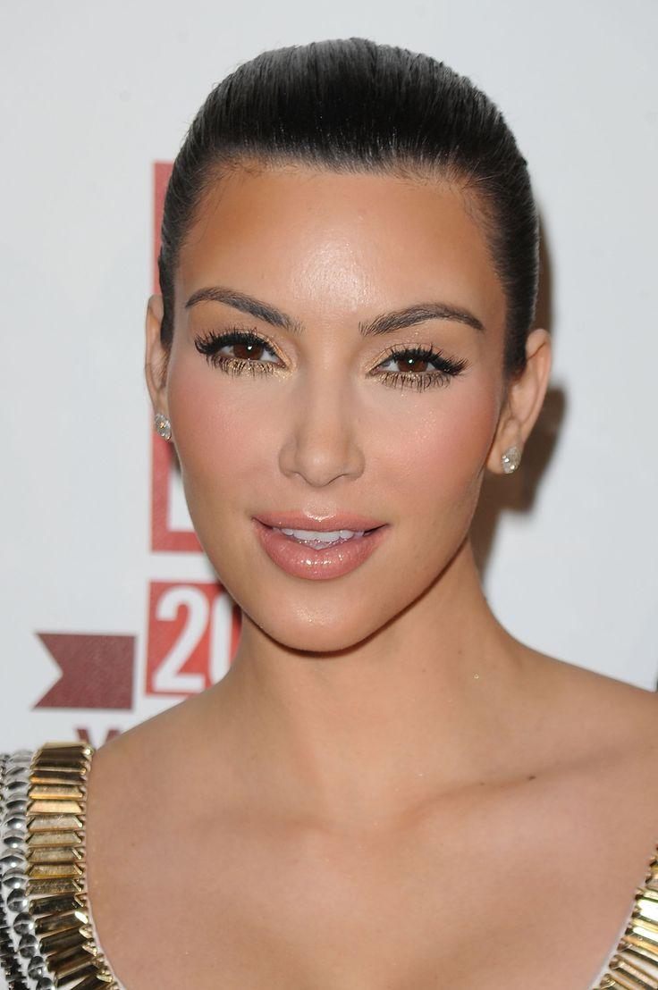 gold eye makeup kim kardashian | Looks - Makeup - Gold ...