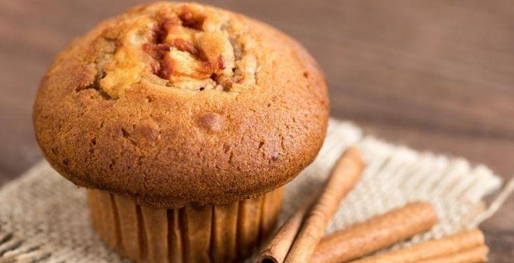 Cassonade, sirop d'érable et compote de pommes…Un muffin savoureux