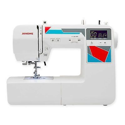 Рriсе - $559.99. Handy Computerized 100 Built-In Stitches White LCD Screen Sewing Machine Tools ( Brand - Janome, MPN - 00181100DC, Operation - Computerized, Country/Region of Manufacture - Unknown, Type - Sewing, Features - Portable, Model - 00181100DC, Class - Household, UPC - Does Not Apply    )