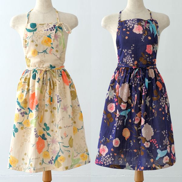 I want a dress in every color and pattern! ギャザーエプロン 1 - nani IRO ONLINE STORE