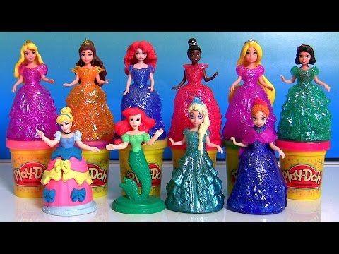 Disney Frozen Mermaid Elsa Anna Ariel and Sisters Mermaids Swimming, FULL Episodes 60 minutes | LEGO - YouTube
