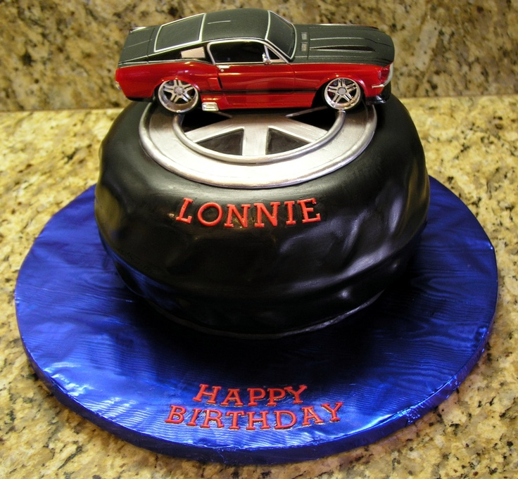 Muscle Car Cake #MuscleCars #LoveOnlineToday.com