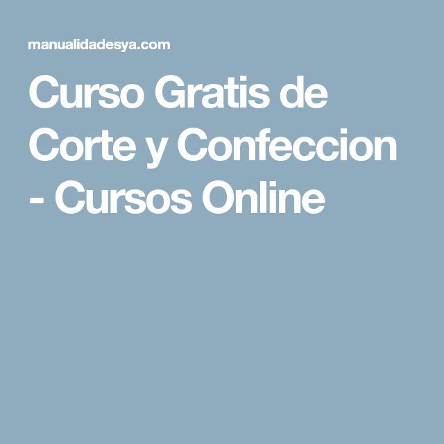 Curso Gratis de Corte y Confeccion - Cursos Online