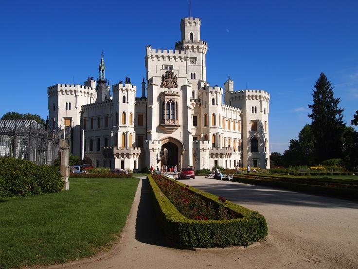 Castle Hluboká, Bohemia