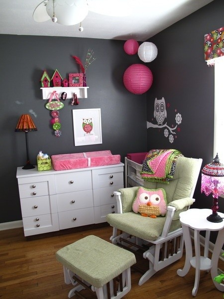 Deko Kinderzimmer ideen selber machen pinnwand schmetterlinge