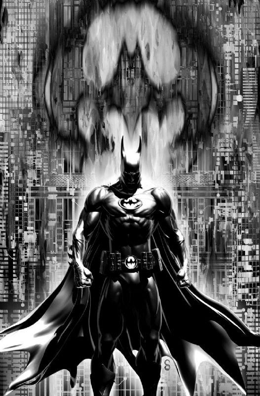Batman INC #8 Alternate Cover B, in Scott Clark's Batman Comic Art Gallery Room - 801234