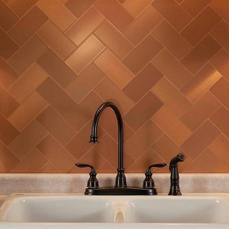 42 Best Chads Kitchen Images On Pinterest Copper Backsplash Tile