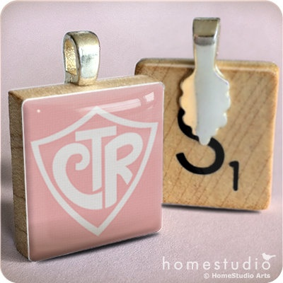 CTR SHIELD Pink  a pendant charm made from a by HomeStudio on Etsy,