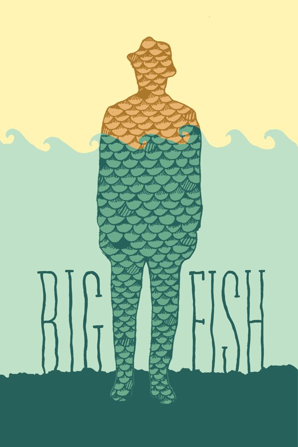 Big Fish Movie Poster on Behance